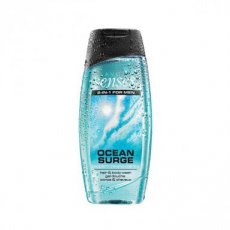 Senses For Men Ocean Surge Hair & Body Wash - 250ml