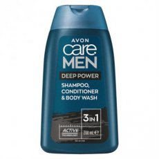 Deep Power- Shampoo, Conditioner & Body Wash 200ml