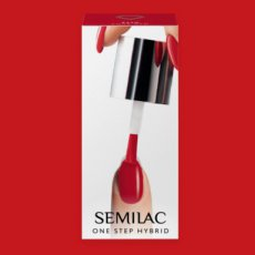 S550 Semilac One Step Hybrid Pure Red 5ml